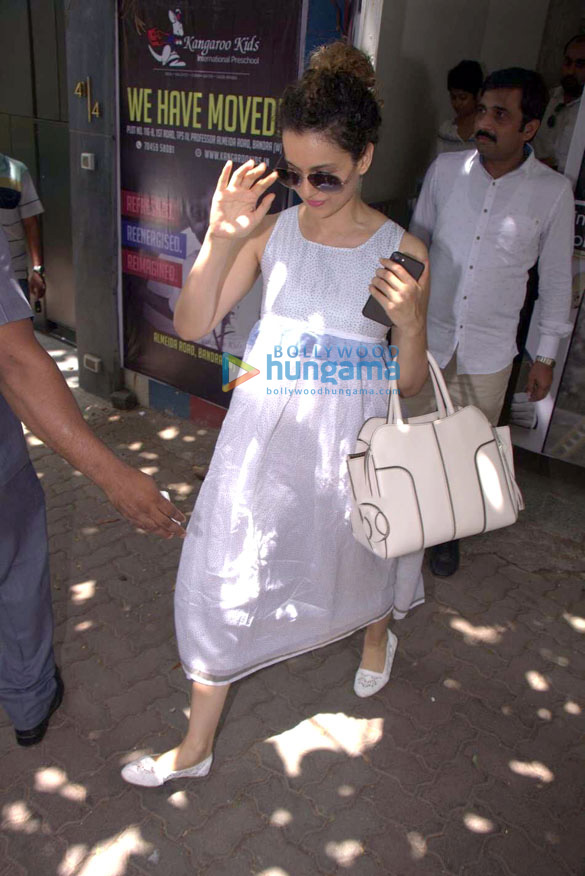 Kangna Ranaut spotted at Pali Hill