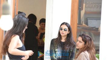 Katrina Kaif and Aditi Rao Hydari snapped at Sequel