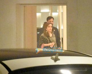 Nita Ambani snapped at Karan Johar's house