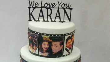OMG! Here's what Karan Johar's 45th birthday cake looked like