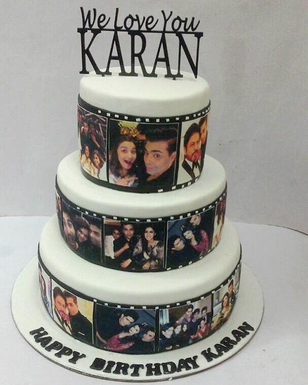 Omg Heres What Karan Johars 45th Birthday Cake Looked Like