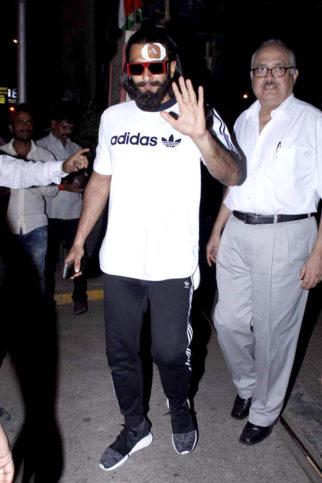 OMG! Ranveer Singh injured on sets of Padmavati
