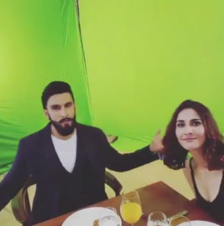 Ranveer Singh, Vaani Kapoor's song 'Nashe Si' gets maximum views and this is how they celebrated! features