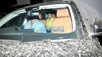 Sidharth Malhotra and Alia Bhatt snapped post dinner at Imran Khan's house