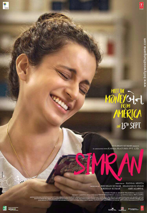 SIMRAN (2017) con KANGANA RANAUT + Jukebox + Sub. Español + Online Simran