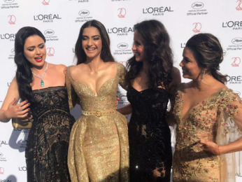 Sonam Kapoor shares a fun moment with Hollywood stars Eva Longoria and Andie MacDowell-1