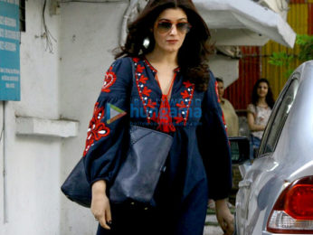 Twinkle Khanna snapped post salon session in Juhu