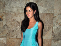 WOW! Katrina Kaif practicing to sit without a chair!