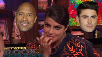 Watch Priyanka Chopra on possibility of dating Nick Jonas; answers inappropriate questions about Dwayne Johnson and Zac Efron  (1)