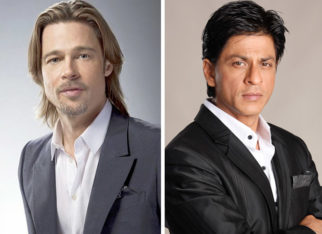 What! Brad Pitt to collaborate over a film with Shah Rukh Khan?