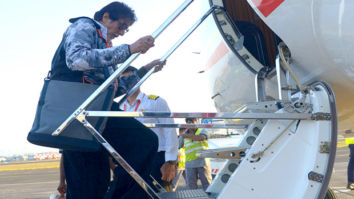 Check out Amitabh Bachchan leaves Mumbai to begin Thugs Of Hindostan in Malta