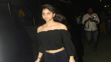 Check out Shah Rukh Khan's daughter Suhana Khan looks cute as a button at Tubelight screening  (1)