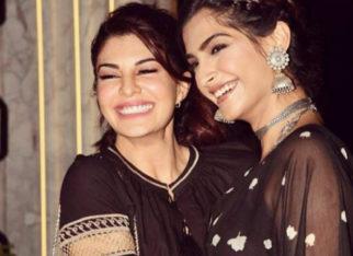 Friends Forever Sonam Kapoor and Jacqueline Fernandez make it a girls' night at Gauri Khan's restaurant opening-1