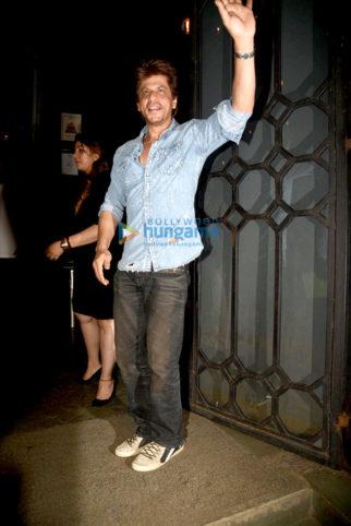Imtiaz Ali's birthday bash at Korner House with Shahrukh Khan, Ranbir Kapoor, Alia Bhatt and Deepika Padukone