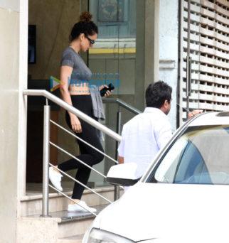 Kangna Ranaut snapped post her rehearsals in Bandra