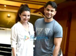 Kunal and Soha ali Khan snapped in Bandra