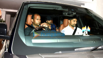 Ranbir Kapoor, Sidharth Malhotra, Alia Bhatt, Aditya Roy Kapur, Arjun Kapoor & Prabhas snapped post party at Karan Johar's house
