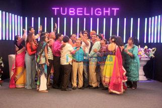 Salman Khan and Sohail Khan promote their film Tubelight on sets of the show Taarak Mehta Ka Ooltah Chashma