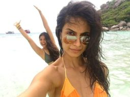 Sarah Jane Dias flaunts her HOT bikini body while chilling on the beach