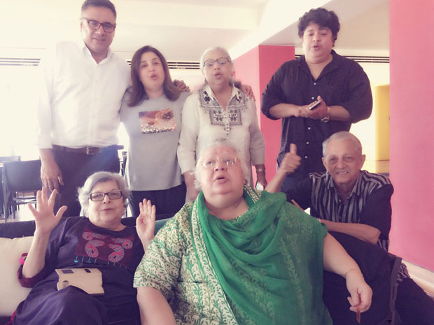 This is how Farah Khan celebrated the birthday of her aunt Daisy Irani and there was a special guest too! features
