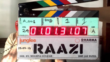 Check out Meghna Gulzar's film Raazi starring Alia Bhatt- Vicky Kaushal goes on floor