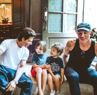 Check out Shah Rukh Khan spends time with Diplo's kids in Los Angeles post Jab Harry Met Sejal song shoot