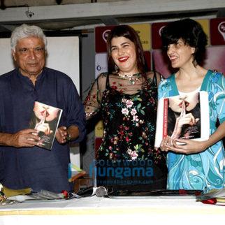Javed Akhtar at Kainaz Jussawala's book launch