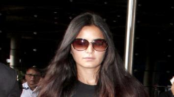 Katrina Kaif and Aditya Roy Kapur snapped at the airport