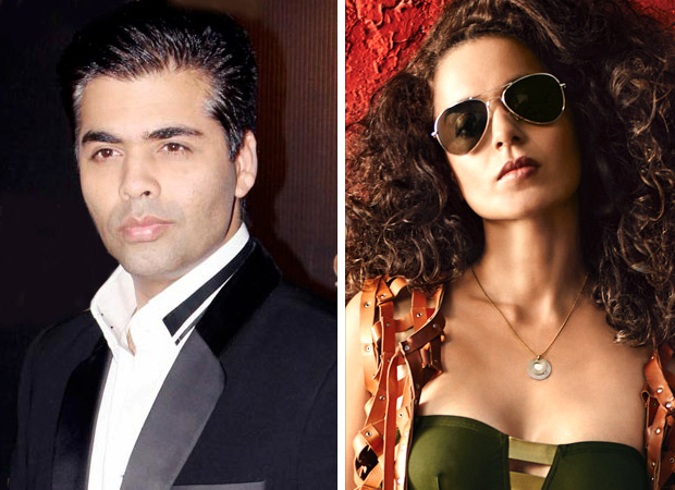 Karan being revengeful against Kangana as she doesn't have a godfather?