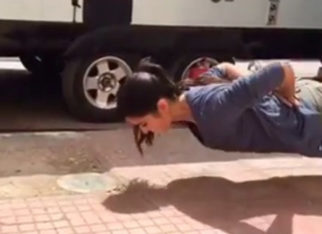 OMG! Katrina Kaif does push ups without s!