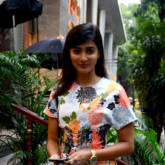 Pooja Hegde snapped at Jet Gems store in Bandra