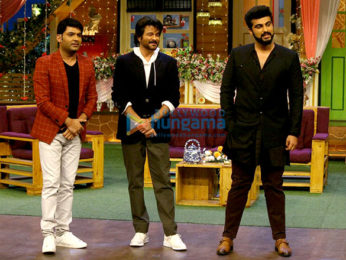 Promotion of 'Mubarakan' on Comedy Nights with Kapil Sharma