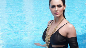 Sana Khan sets water afire with this SEXY photograph