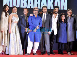 Sangeet ceremony with the cast and crew of 'Mubarakan'