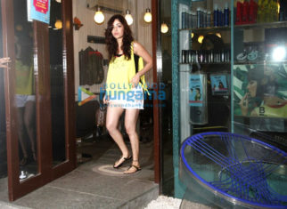 The stunning Yami Gautam snapped at the B'Blunt salon