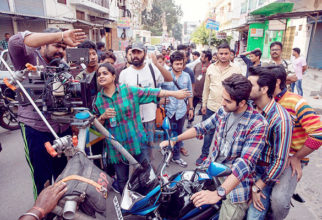 On The Sets Of The Film Bareilly Ki Barfi