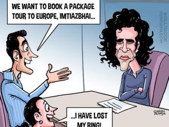 Bollywood Toons Imtiaz Ali tours & travels!
