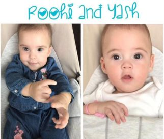 CUTE! Karan Johar shares adorable pictures of his twins Yash and Roohi1