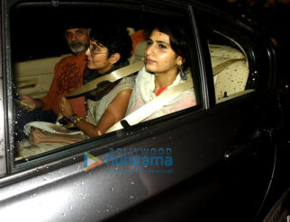 Fatima Sana Shaikh and Aamir Khan's wife Kiran Rao travel together for Junaid Khan's play-1
