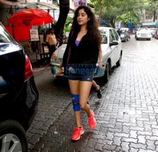 Jhanvi Kapoor and Fatima Sana Shaikh snapped at Kitchen Garden