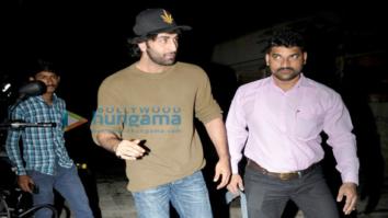 Ranbir Kapoor snapped post a meeting with director Shoojit Sircar in Juhu