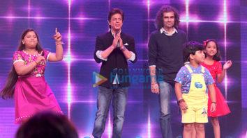 Shah Rukh Khan and Imtiaz Ali on Sa Re Ga Ma Pa Li'l Champs