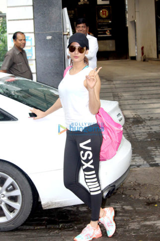 Shraddha Kapoor and Sonal Chauhan snapped post gym in Bandra