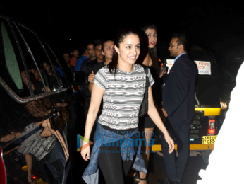 Shraddha Kapoor snapped with her friend post dinner at Hakkasan