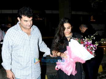 Vidya Balan snapped post Siddharth Roy Kapur's birthday dinner bash