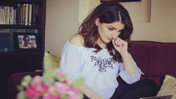 WOW! Soha Ali Khan spotted working dedicatedly on her first book