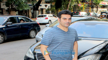 Arbaaz Khan snapped at A'Kreations in Bandra