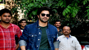 Varun Dhawan snapped at Shoojit Sircar's office