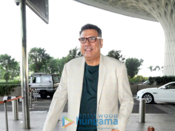John Abraham and Boman Irani snapped at the airport