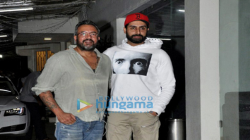Abhishek Bachchan snapped post 'Haseena Parkar' screening